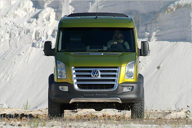Best Camper Vans - VW Crafter Atacama Front