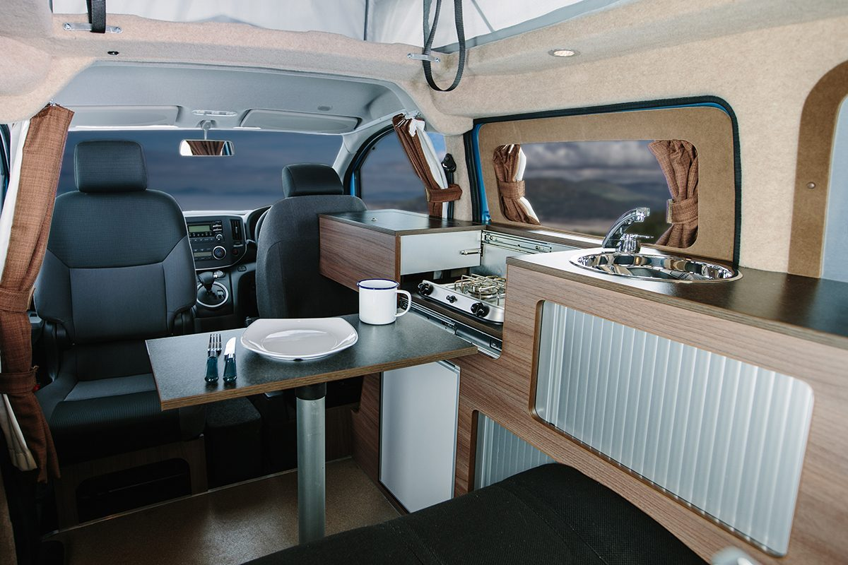Best Camper Vans - Dalbury E Electric Interior
