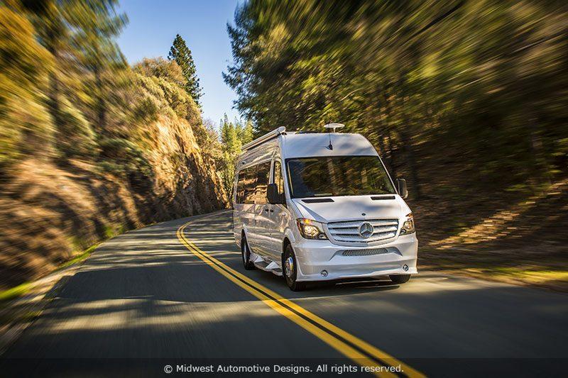 Best Camper Vans - Mercedes Benz Midwest RV Camper