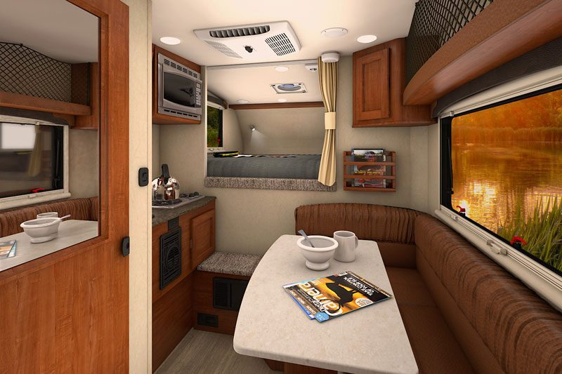 Best Camper Vans - Overland Nissan Titan XD Interior