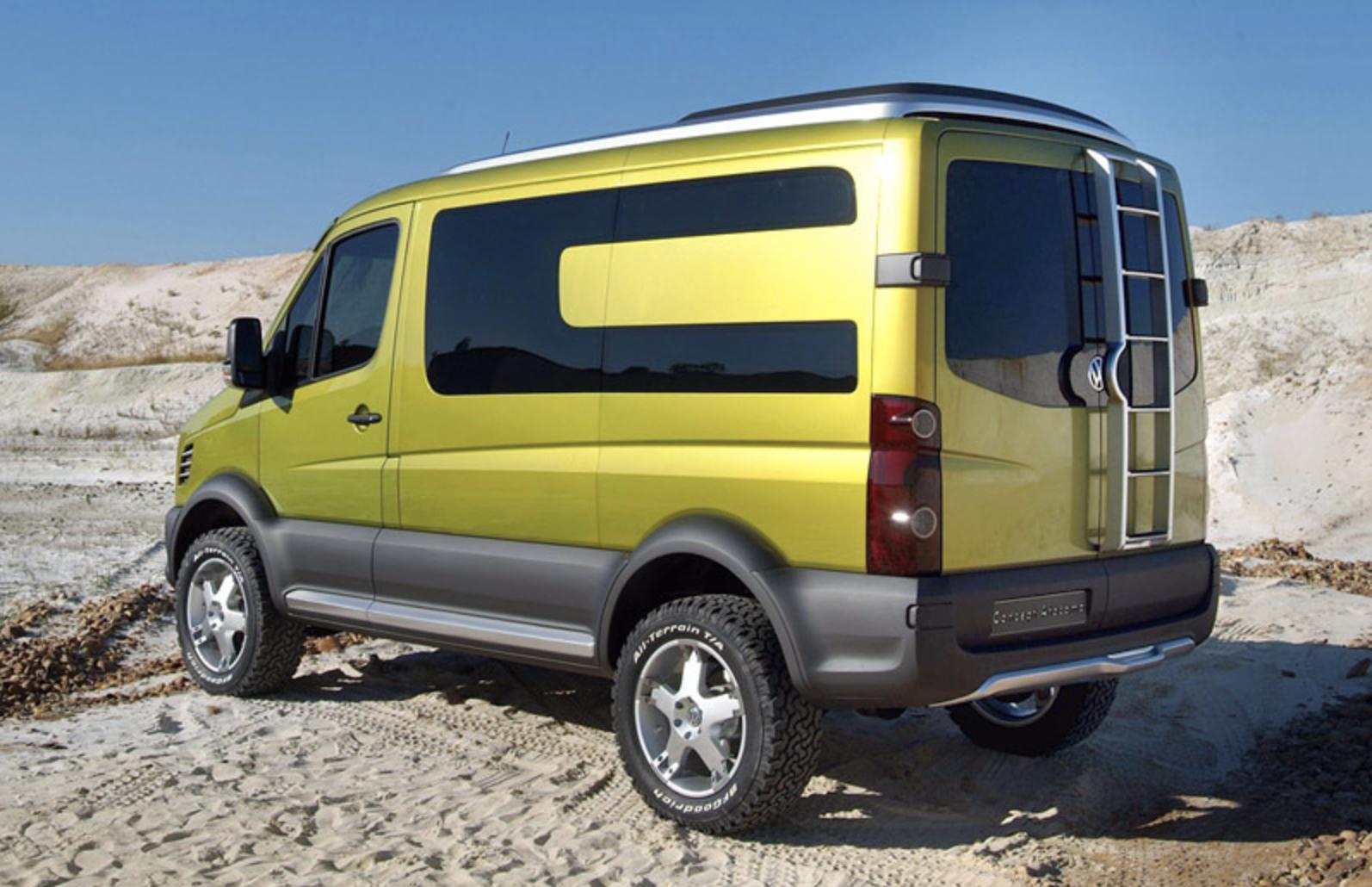 Best Camper Vans - VW Crafter Atacama