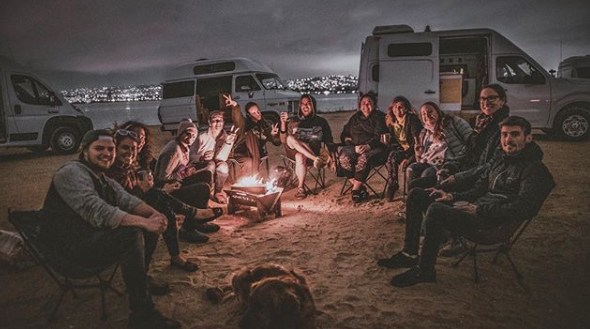 Solo Female Vanlifer- vanlife gathering
