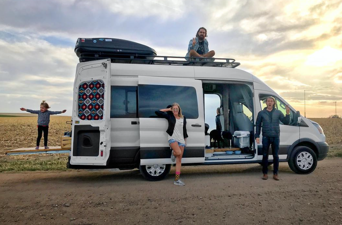 Ford Transit Camper - The Fites and co
