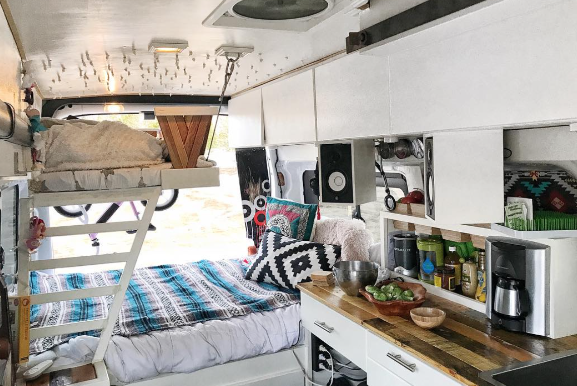 Ford Transit Camper - Living room