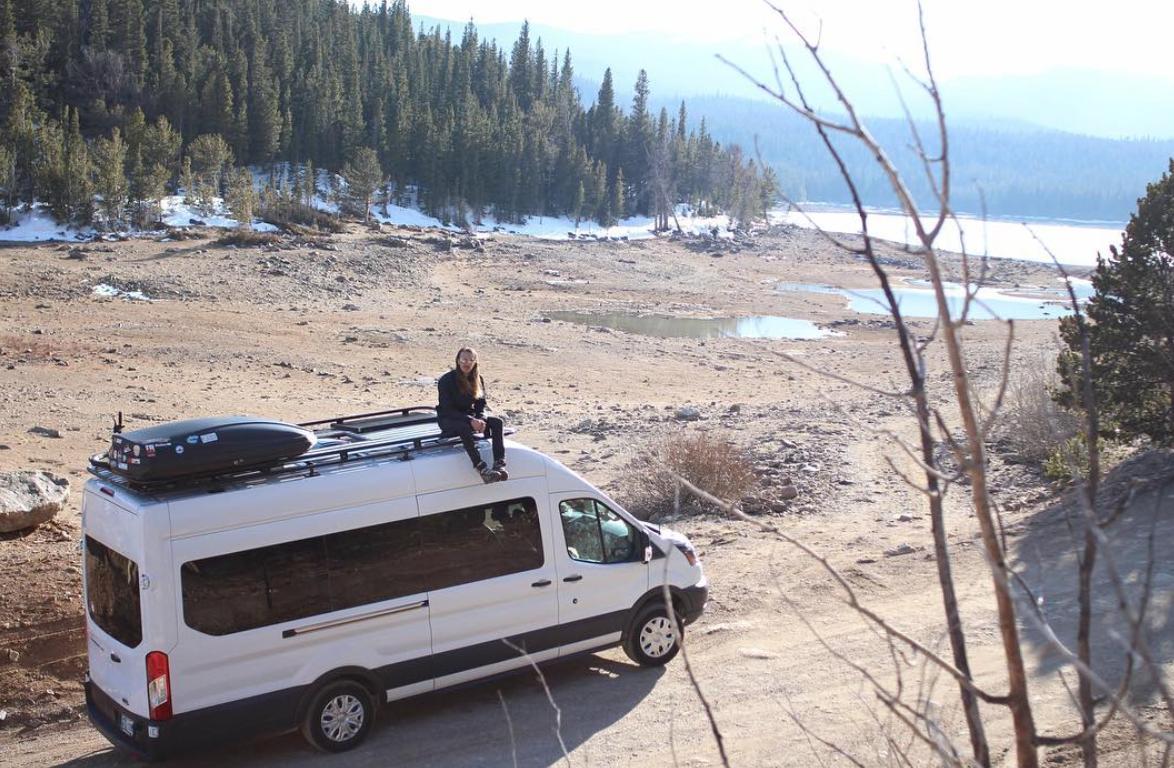 Ford Transit Camper - Mars roof