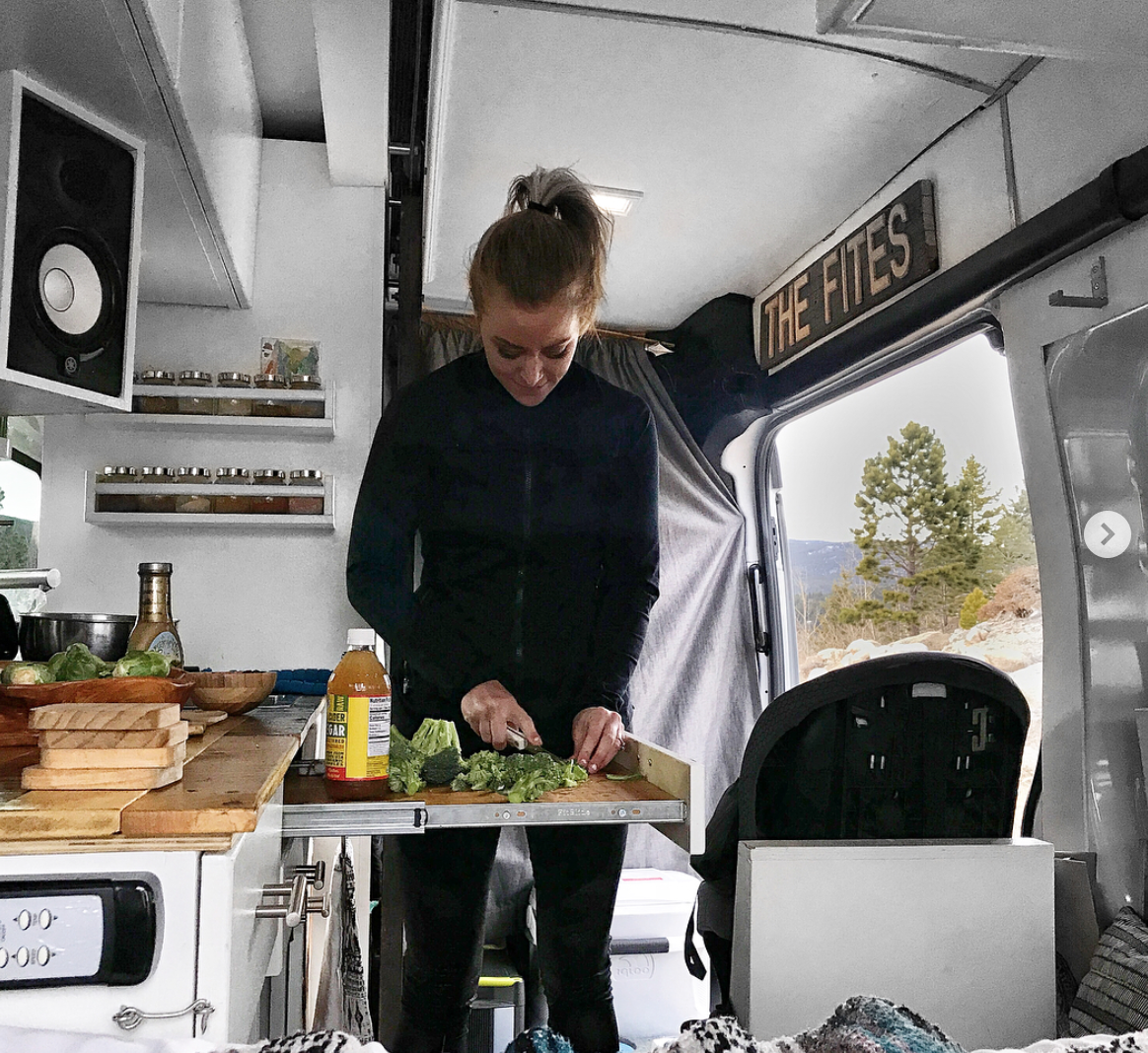Ford Transit Camper - Kitchen