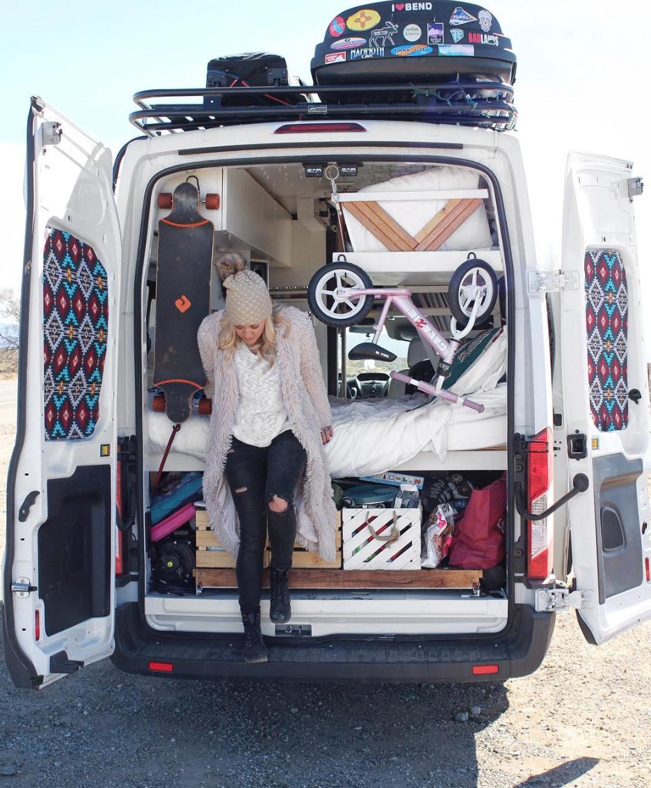 Ford Transit Camper - Ash