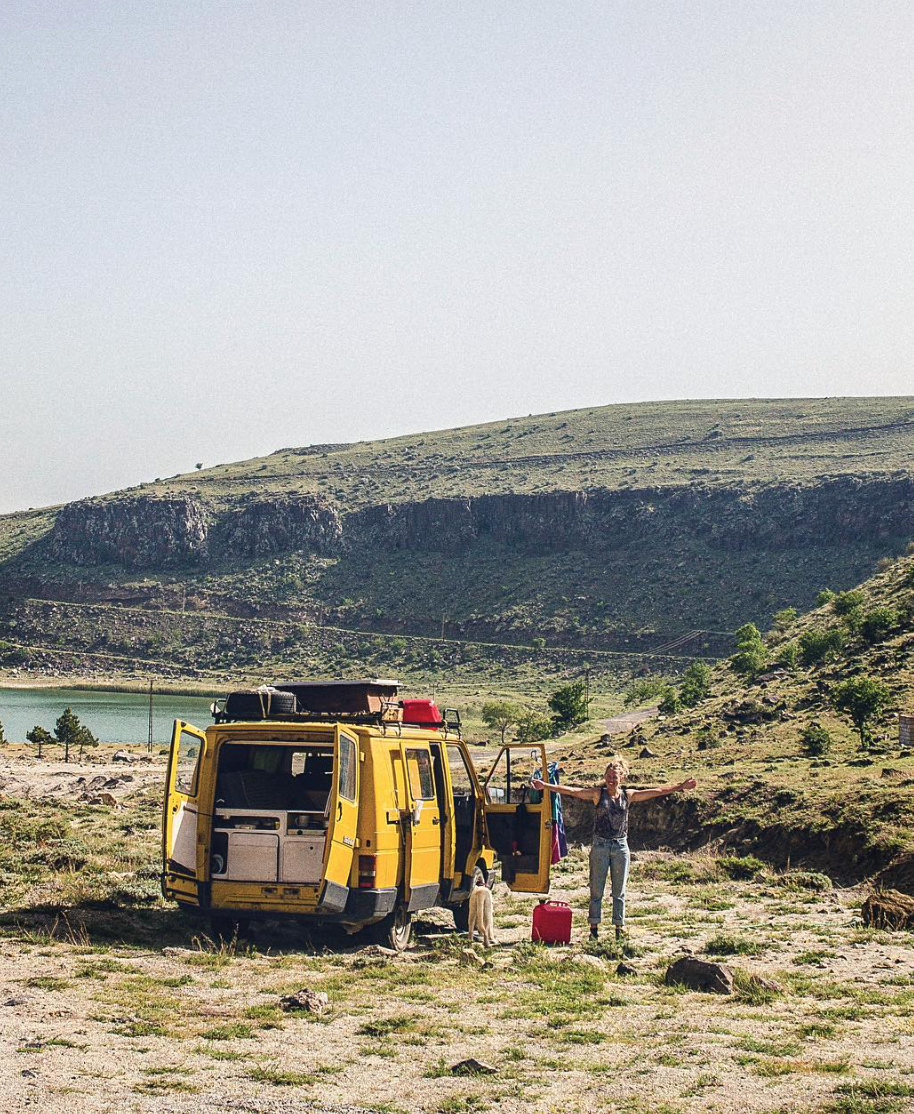 Van Life Turkey - Hills