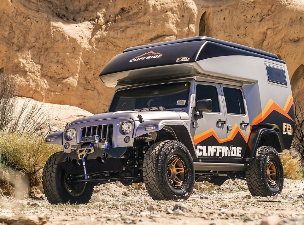 jeep camper front