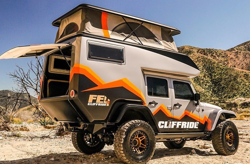 Jeep Camper Becomes The Ultimate Rock Crawling Adventure