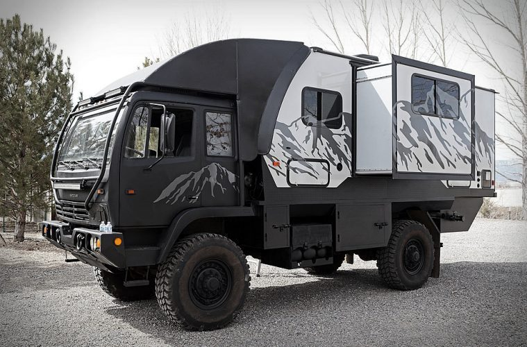 Hunter RMV - the king of off grid RVs