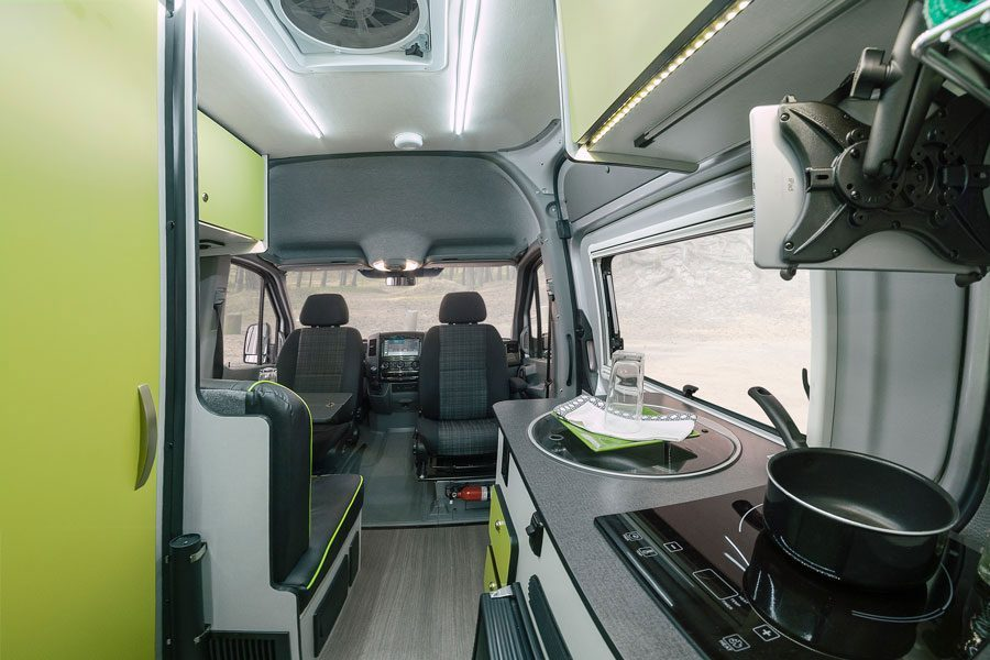Best Camper Vans - Winnebago Internal