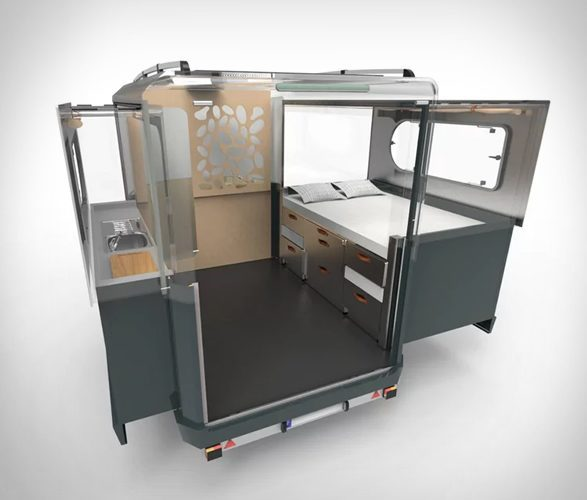 Expandable Trailer - Kitchen