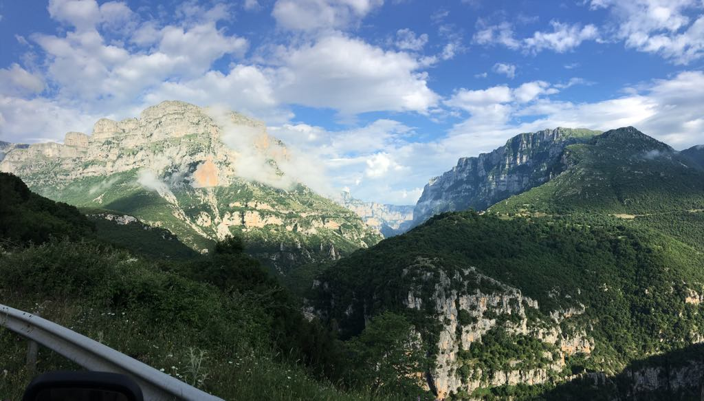 Van Life Greece - Mountains