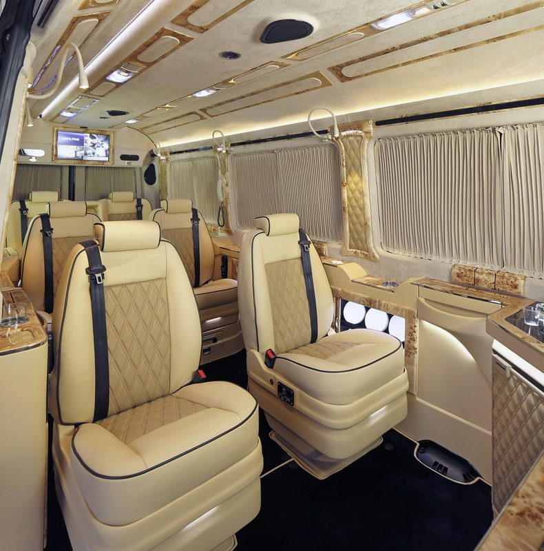 Mercedes Sprinter Conversions - The executive suite