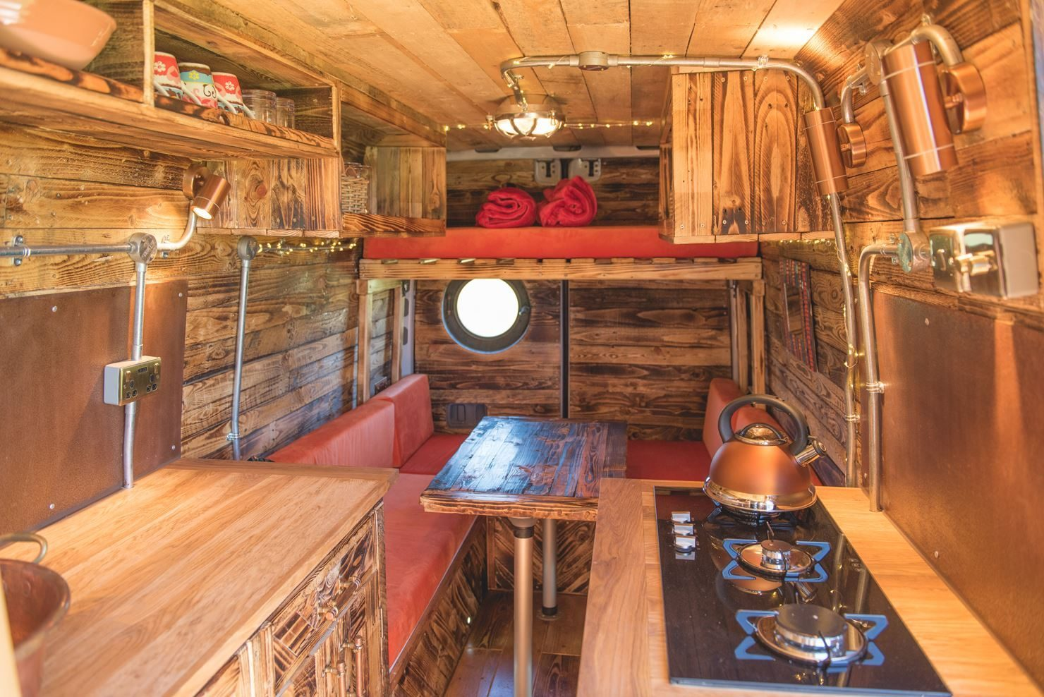 Mercedes Sprinter Conversions - The Log Cabin