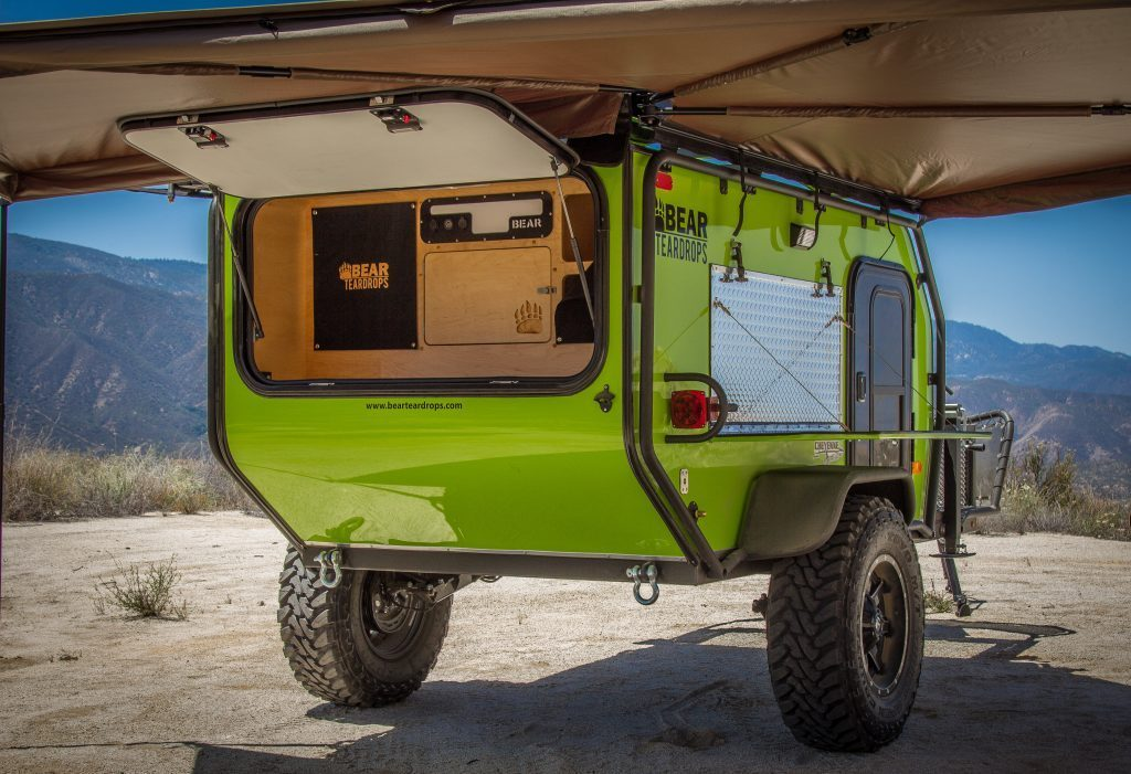 bear teardrop trailers awning