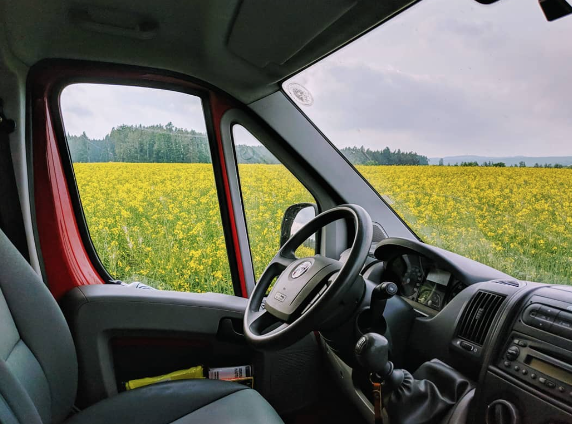 Van Life Czech Republic - Fields