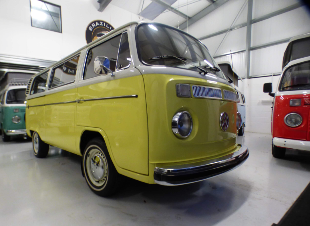 Electric RV - VW MICROBUS