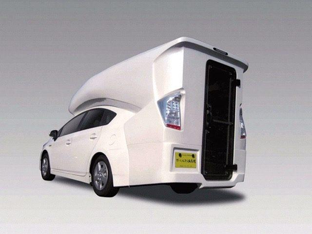 Top Eco Campers - Prius Camper reverse