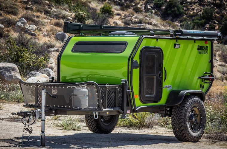 Bear Teardrop Trailers Are Built To Explore The Unexplored