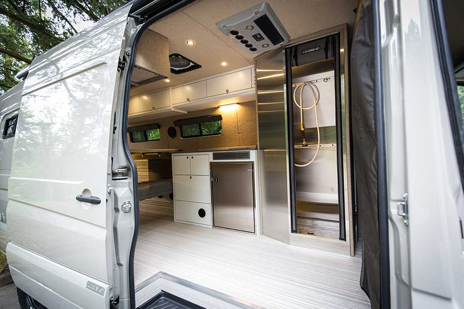 Mercedes Sprinter Conversions - 4x4 inside