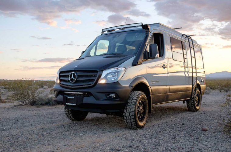 Mercedes Sprinter Conversions - Adventure Feature