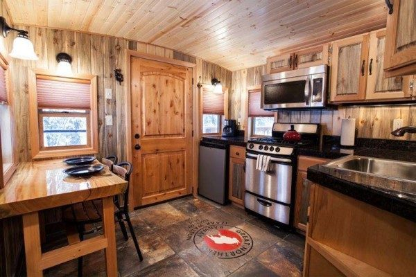 Top Tiny Homes - Inside The Train House