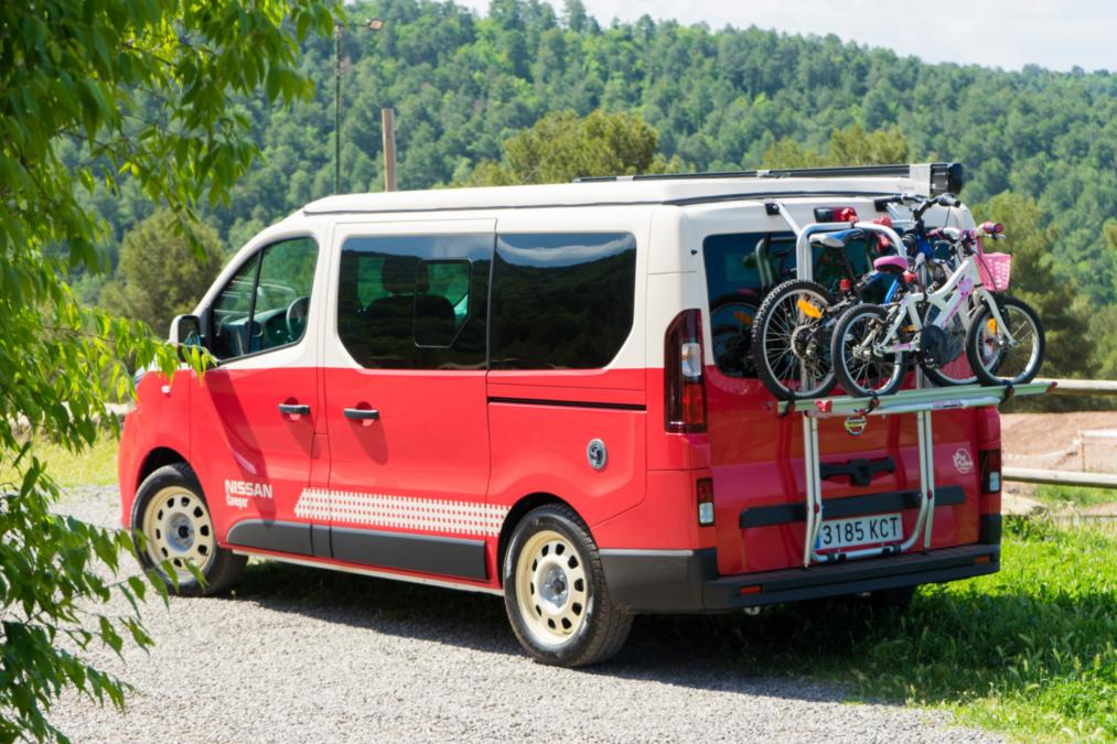 electric campers exterior