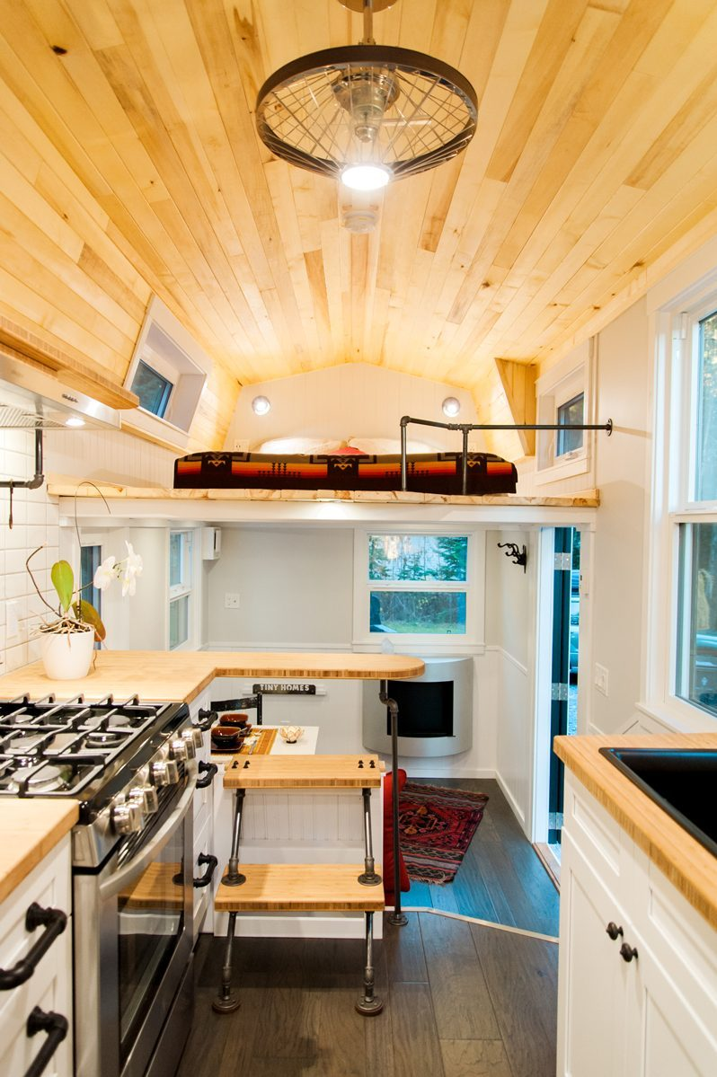 Top Tiny Homes - Inside The Aspen