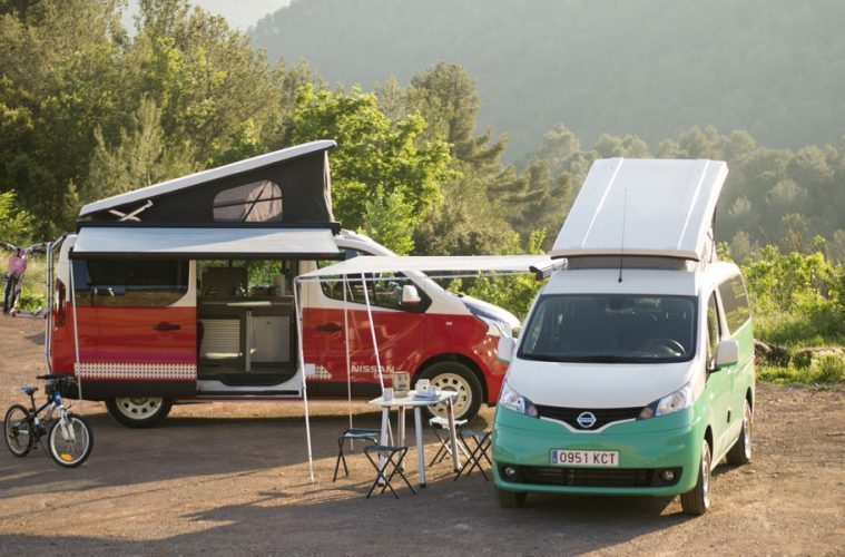 Nissan Has Revealed Two New Pop Up Electric Campers