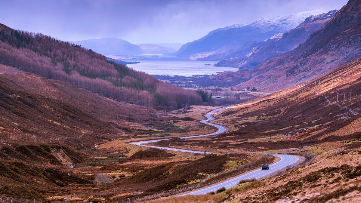 top road trips - Scotland