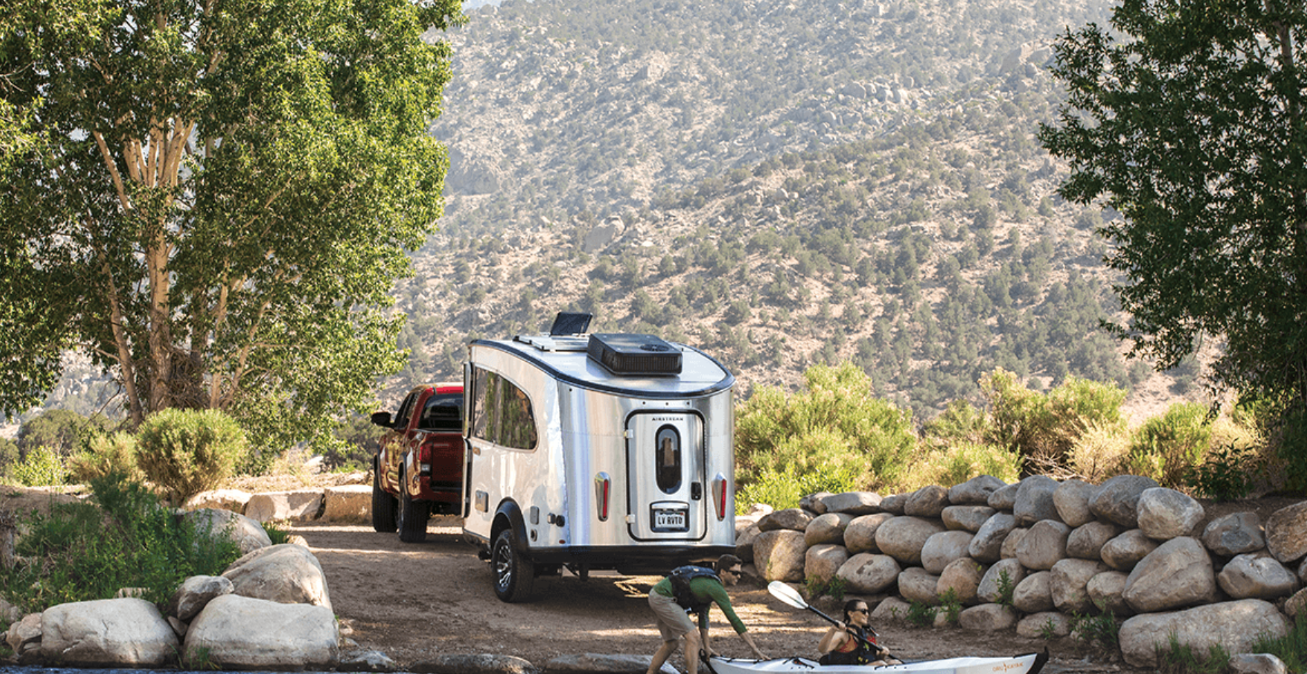 Airstream Basecamp Trailer - mountain living