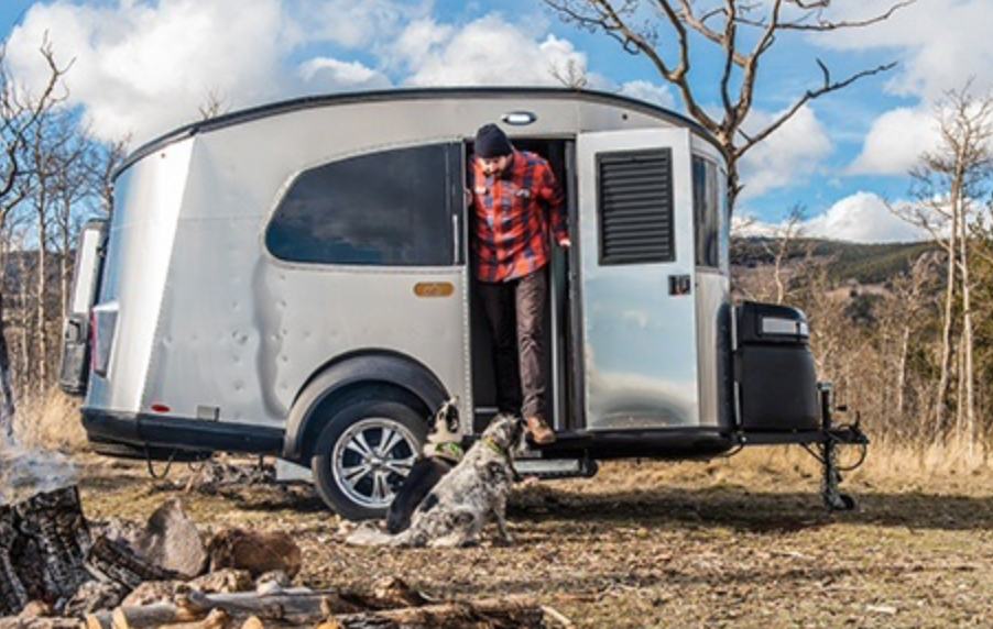 Airstream Basecamp Trailer - off grid