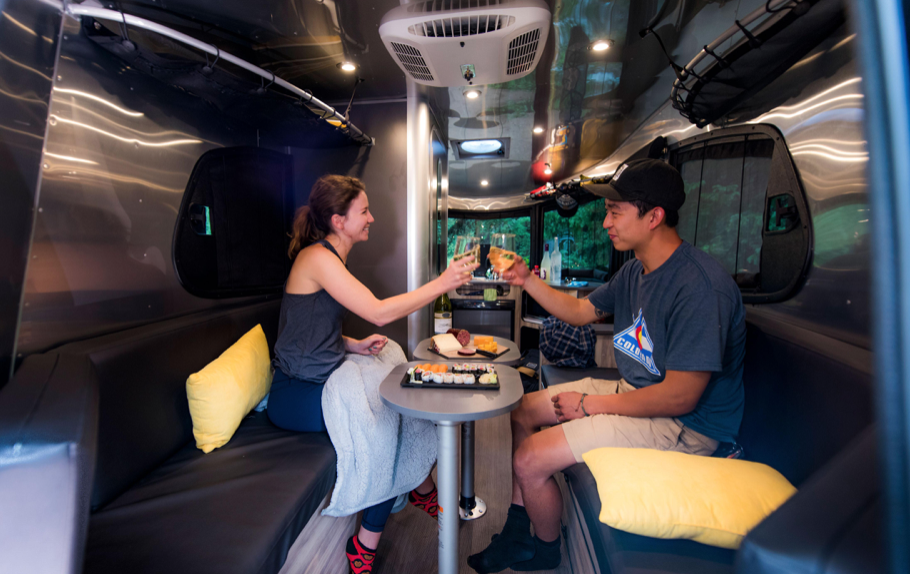 Airstream Basecamp Trailer - dining