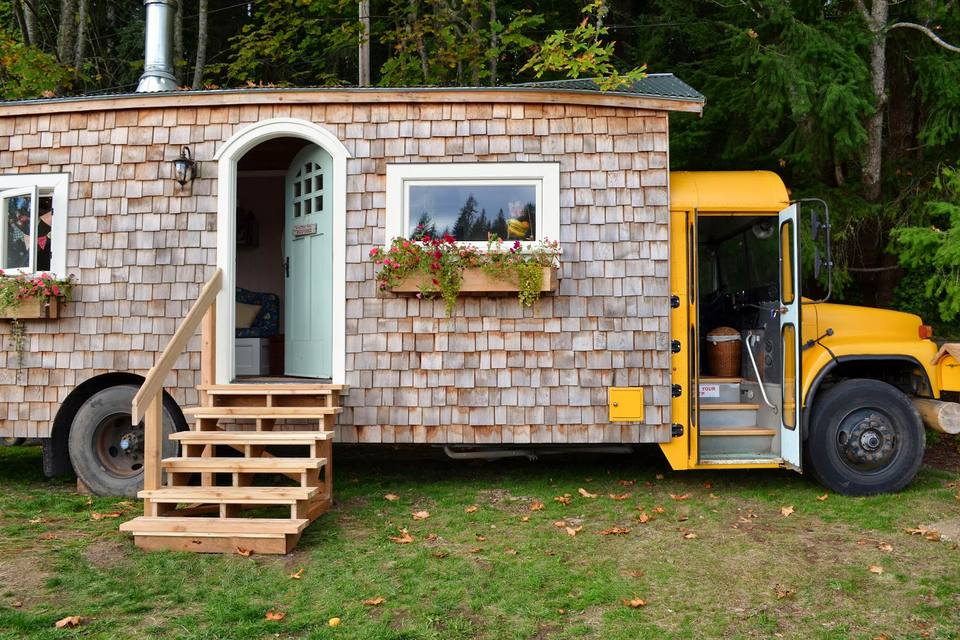 Top Tiny Homes - School Bus