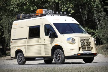 Citroen Camper Van - Feature
