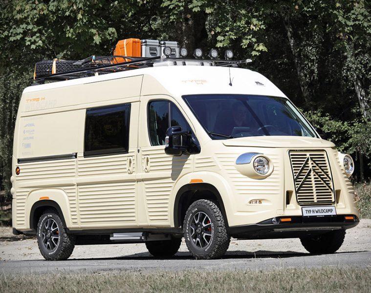 Citroen Camper Van - Feature