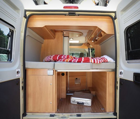 Best Motorhomes - Interior of Citroen Wildcamp