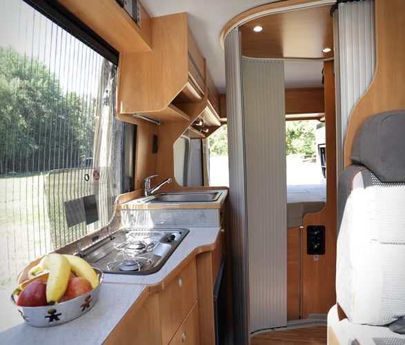 Best van to live in - Citroen Wildcamp interior