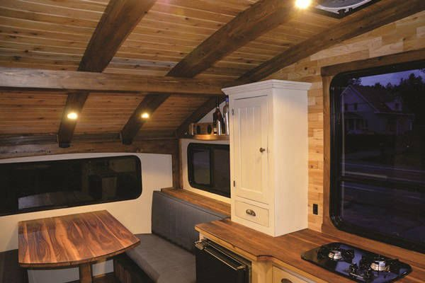 Top Tiny Homes - Le Koroc Kitchen