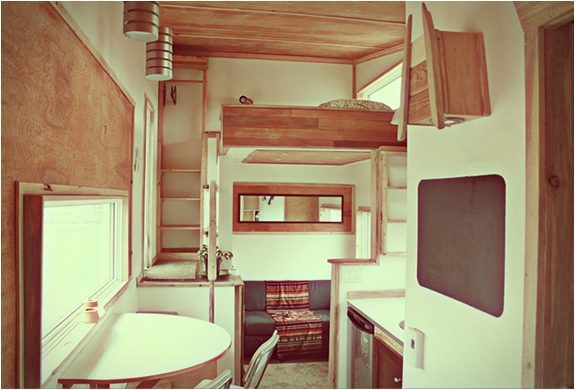 Top Tiny Homes - Inside the Leaf house
