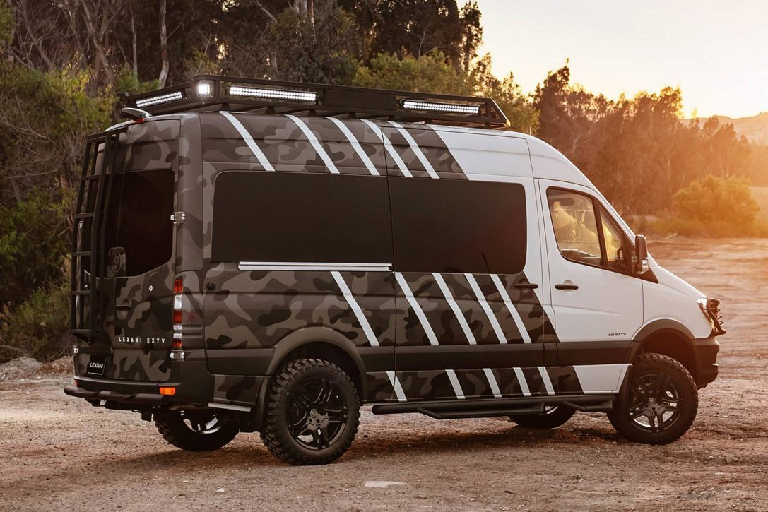 All Terrain Camper Van - rear