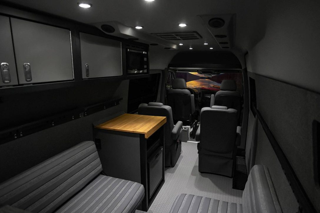 All Terrain Camper Van - interior