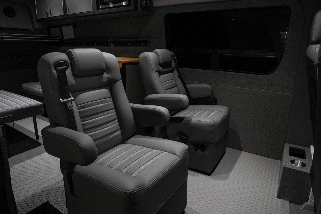All Terrain Camper Van - seats