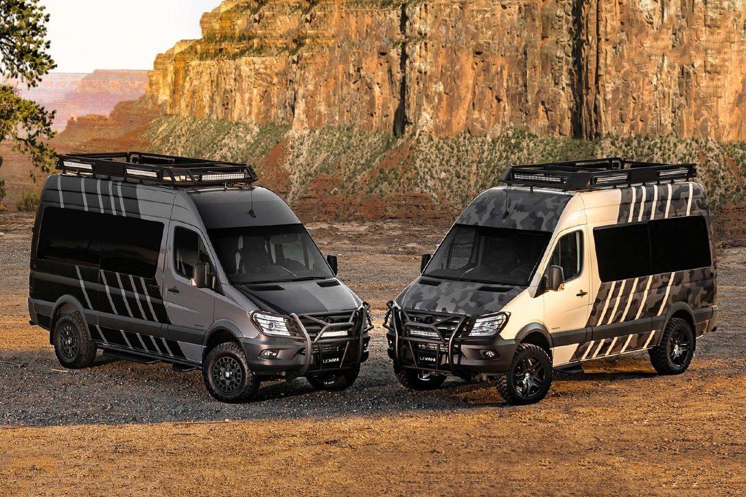 All Terrain Camper Van - Kalahari