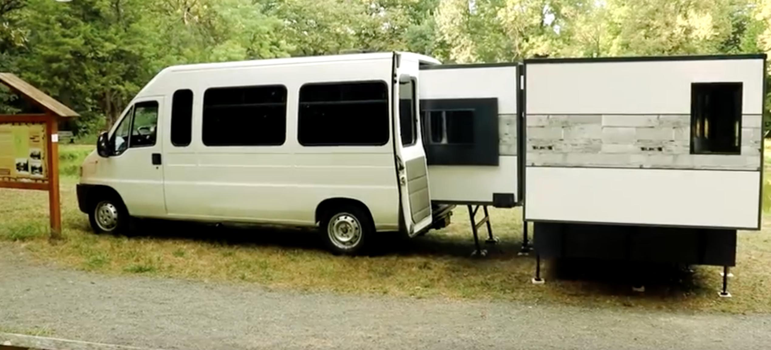Extendable Camper - Cargo