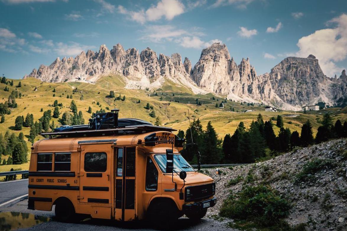 adventure bus exterior