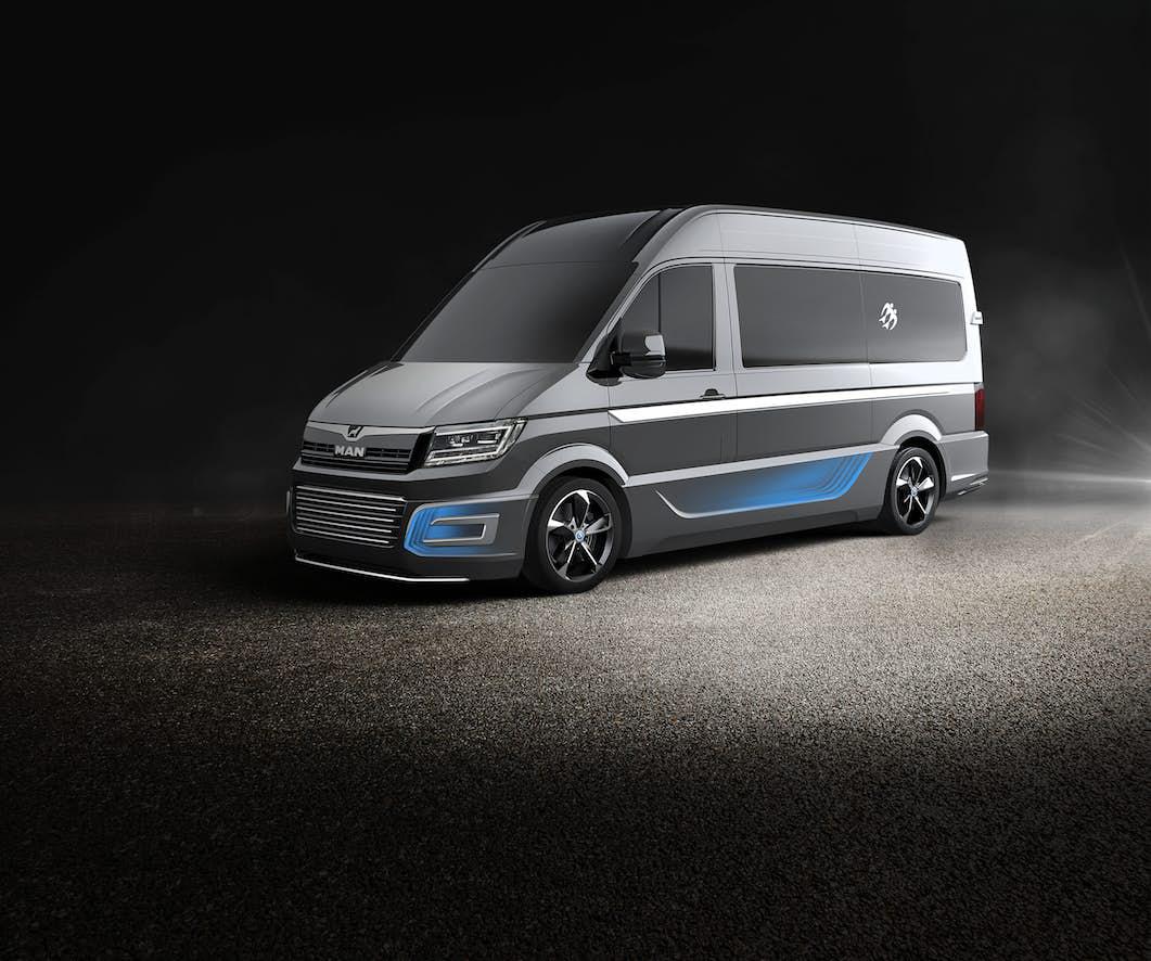 custom campervan - CUVision