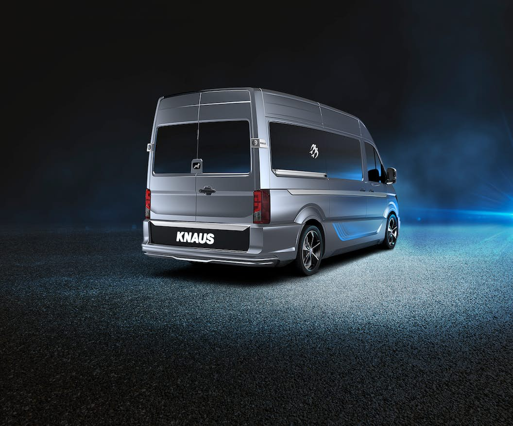 custom campervan - CUVision back